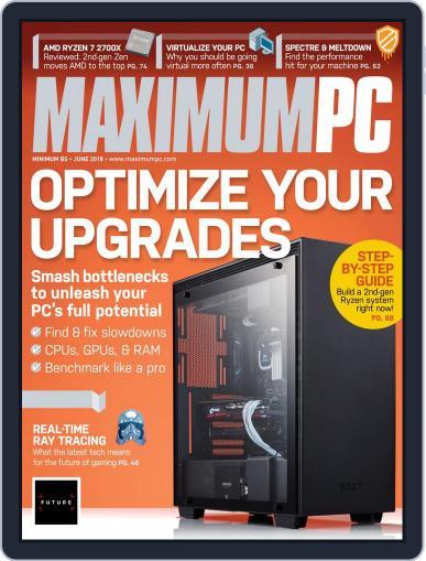 Maximum PC June 1st, 2018 Digital Back Issue Cover
