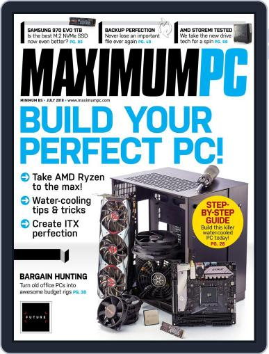 Maximum PC July 1st, 2018 Digital Back Issue Cover