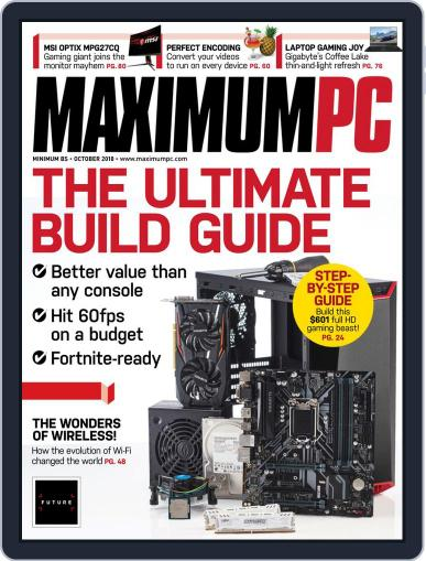 Maximum PC October 1st, 2018 Digital Back Issue Cover