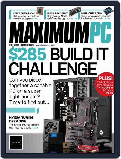 Maximum PC December 1st, 2018 Digital Back Issue Cover