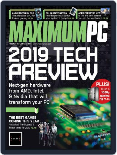 Maximum PC January 1st, 2019 Digital Back Issue Cover