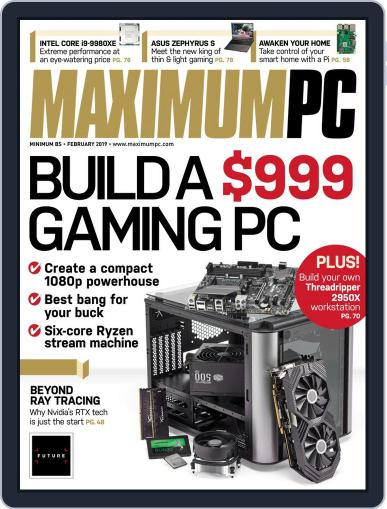 Maximum PC February 1st, 2019 Digital Back Issue Cover