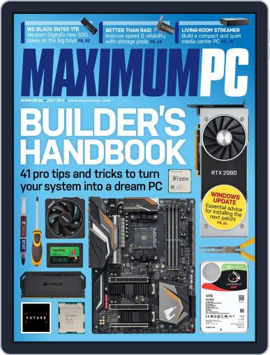 Maximum PC July 1st, 2019 Digital Back Issue Cover