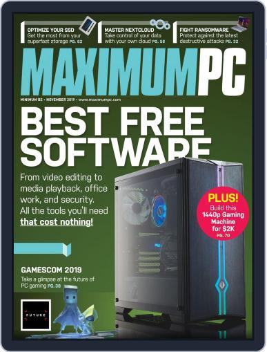 Maximum PC November 1st, 2019 Digital Back Issue Cover