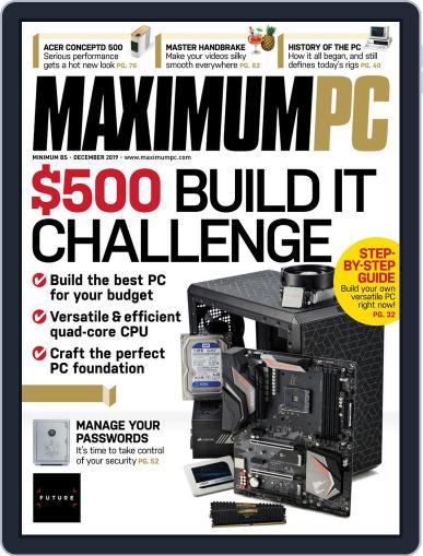 Maximum PC December 1st, 2019 Digital Back Issue Cover