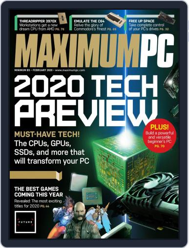 Maximum PC February 1st, 2020 Digital Back Issue Cover