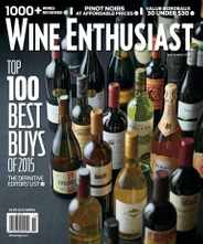 Wine Enthusiast (Digital) Subscription October 13th, 2015 Issue