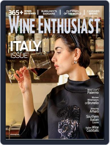 Wine Enthusiast April 1st, 2019 Digital Back Issue Cover