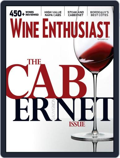 Wine Enthusiast September 1st, 2019 Digital Back Issue Cover