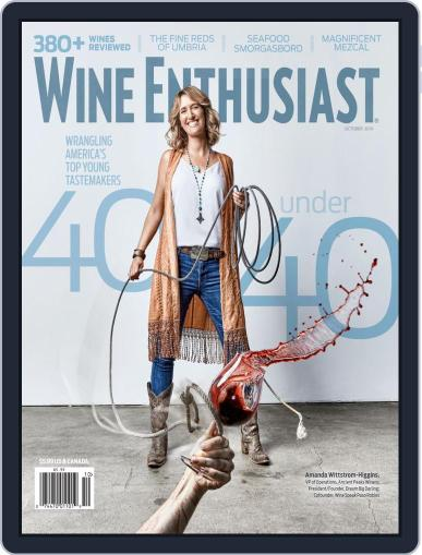 Wine Enthusiast October 1st, 2019 Digital Back Issue Cover