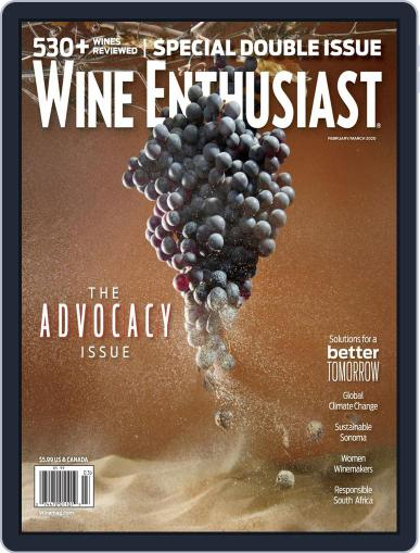 Wine Enthusiast February 1st, 2020 Digital Back Issue Cover