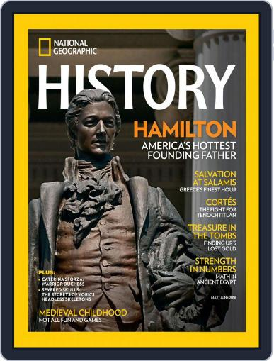 National Geographic History May 1st, 2016 Digital Back Issue Cover