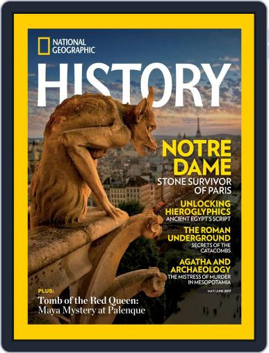 National Geographic History May 1st, 2017 Digital Back Issue Cover