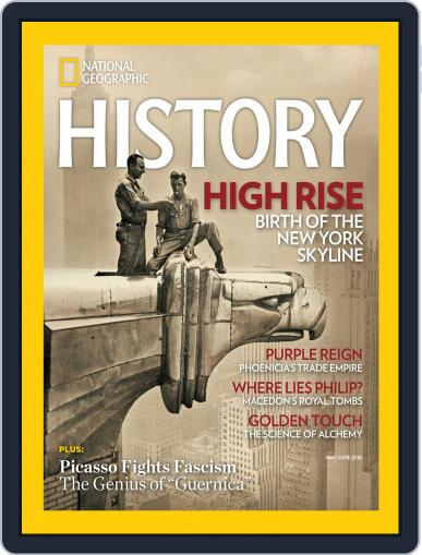 National Geographic History May 1st, 2018 Digital Back Issue Cover