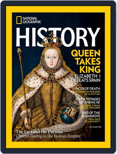 National Geographic History July 1st, 2018 Digital Back Issue Cover