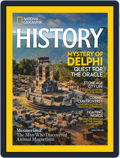 National Geographic History March 1st, 2019 Digital Back Issue Cover