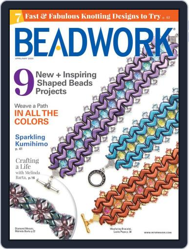 Beadwork April 1st, 2020 Digital Back Issue Cover