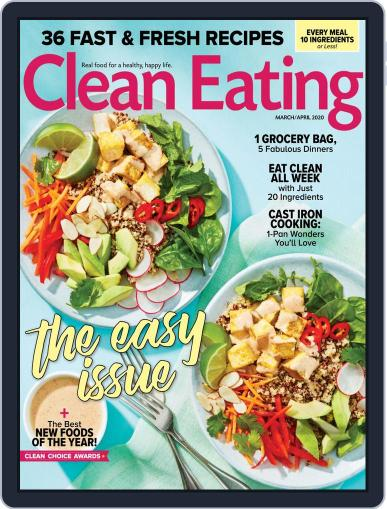Clean Eating March 1st, 2020 Digital Back Issue Cover