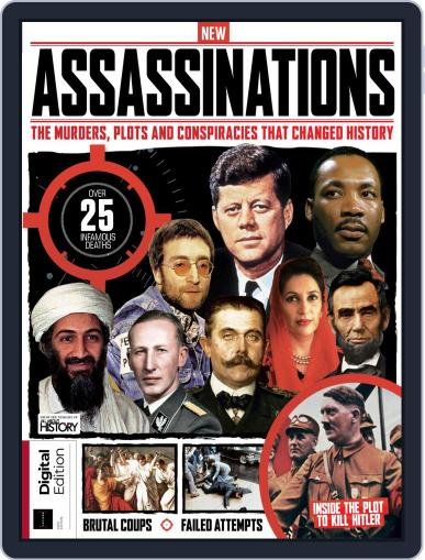 Assassinations February 21st, 2020 Digital Back Issue Cover