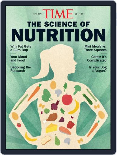 TIME The Science of Nutrition February 27th, 2020 Digital Back Issue Cover