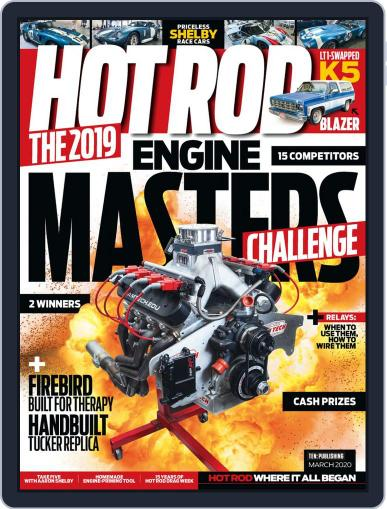 Hot Rod March 1st, 2020 Digital Back Issue Cover