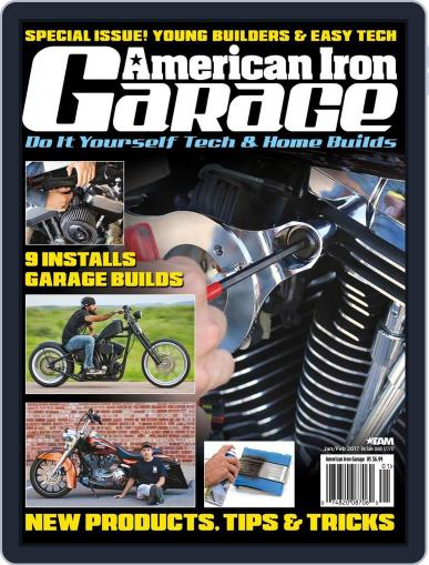 American Iron Garage January 1st, 2017 Digital Back Issue Cover