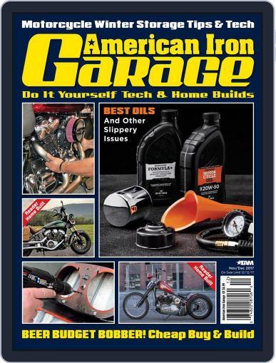 American Iron Garage November 1st, 2017 Digital Back Issue Cover