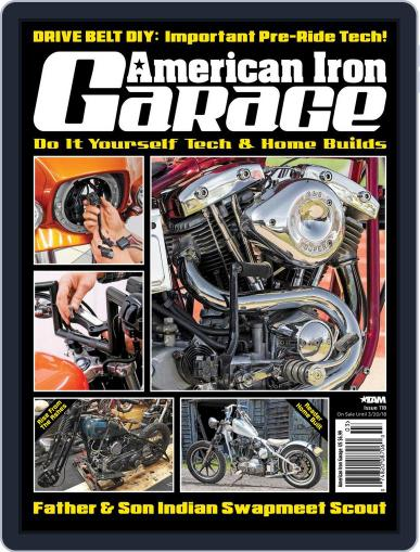 American Iron Garage March 1st, 2018 Digital Back Issue Cover
