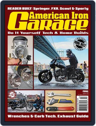 American Iron Garage May 1st, 2018 Digital Back Issue Cover