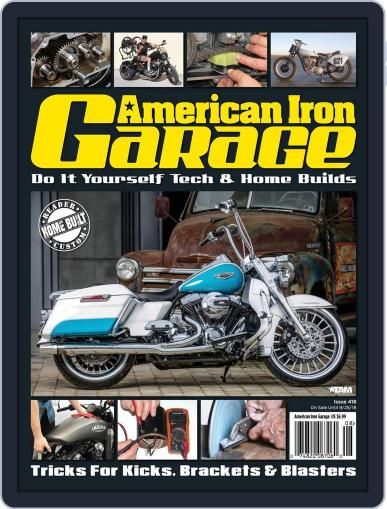 American Iron Garage August 1st, 2018 Digital Back Issue Cover