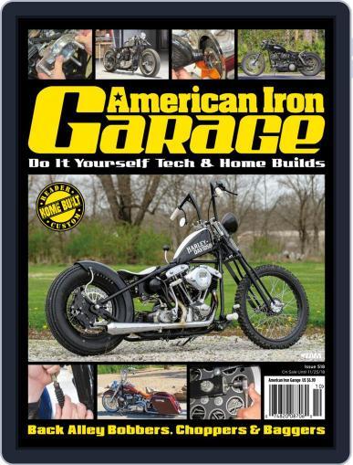 American Iron Garage September 1st, 2018 Digital Back Issue Cover