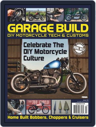 American Iron Garage January 1st, 2019 Digital Back Issue Cover
