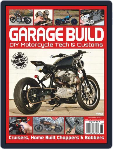 American Iron Garage May 9th, 2019 Digital Back Issue Cover