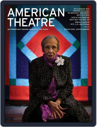AMERICAN THEATRE September 1st, 2019 Digital Back Issue Cover