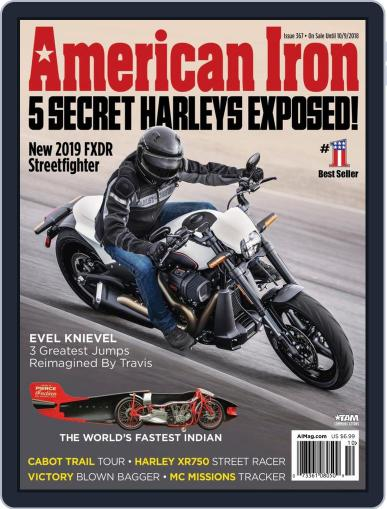 American Iron August 3rd, 2018 Digital Back Issue Cover