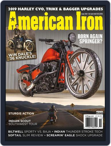 American Iron September 4th, 2018 Digital Back Issue Cover