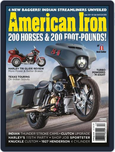 American Iron October 1st, 2018 Digital Back Issue Cover