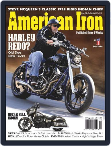 American Iron December 3rd, 2018 Digital Back Issue Cover