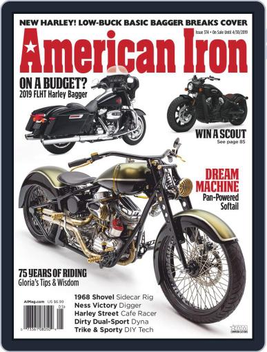 American Iron April 30th, 2019 Digital Back Issue Cover