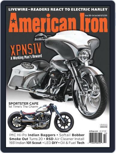 American Iron September 1st, 2019 Digital Back Issue Cover