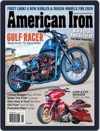 American Iron October 3rd, 2019 Digital Back Issue Cover
