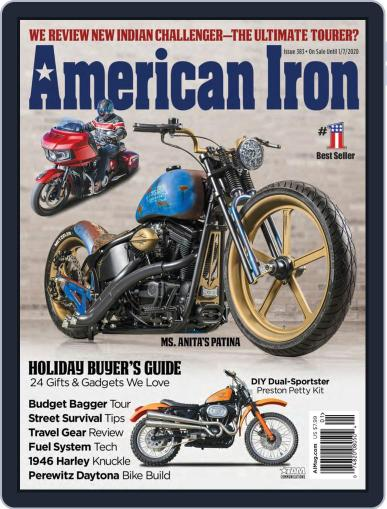 American Iron November 7th, 2019 Digital Back Issue Cover