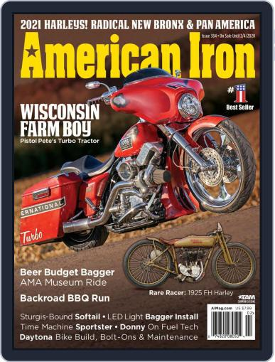 American Iron December 5th, 2019 Digital Back Issue Cover
