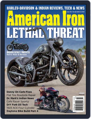 American Iron January 2nd, 2020 Digital Back Issue Cover