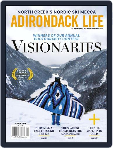 Adirondack Life March 1st, 2018 Digital Back Issue Cover