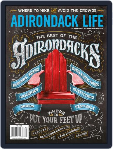 Adirondack Life May 1st, 2018 Digital Back Issue Cover