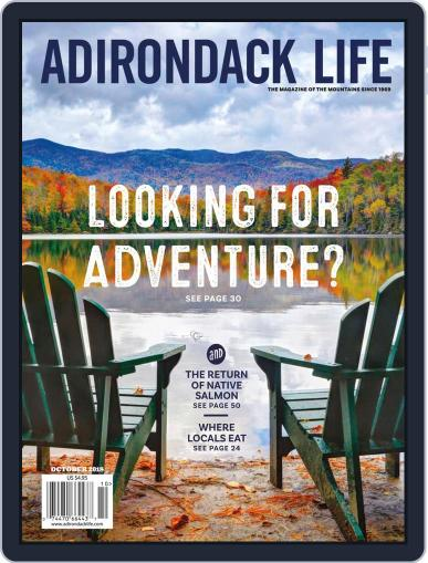 Adirondack Life September 1st, 2018 Digital Back Issue Cover