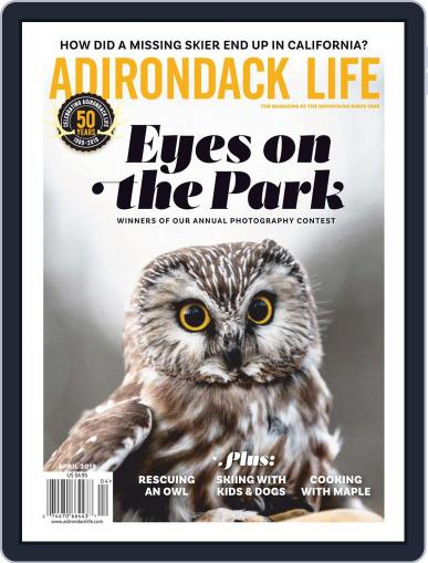 Adirondack Life March 1st, 2019 Digital Back Issue Cover