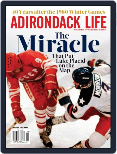 Adirondack Life January 1st, 2020 Digital Back Issue Cover