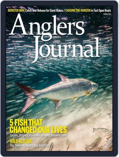 Angler's Journal April 1st, 2017 Digital Back Issue Cover